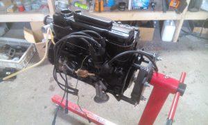 Restauratie motor Blom